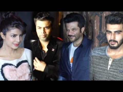 Priyanka Chopra Shilpa Shetty Arjun Kapoor At The Special Screening Of Dil Dhadakne Do