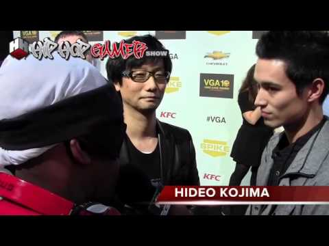 Wii-U Hideo Kojima  entrevistado sobre a nova gerao