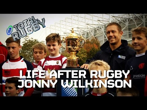 LIFE AFTER RUGBY: Jonny Wilkinson