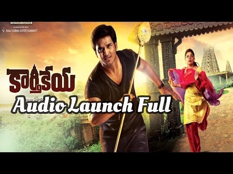 Karthikeya Full Length Audio Launch - Nikhil Siddarth, Swathi
