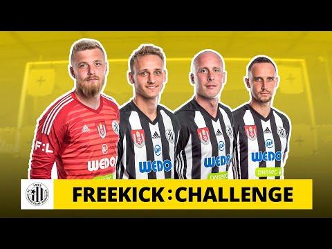 Freekick challenge v Budějovicích: Mám to kopnout jako Beckham?