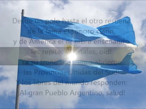 Himno Nacional Argentino Completo con Letra