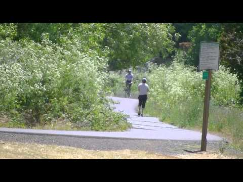 BLUE HERON PARK GREENWAY JOGGING WALKING BIKING FOR HEALTH