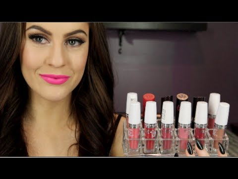 Maybelline 14hr Lipsticks   Lip Swatches and Review