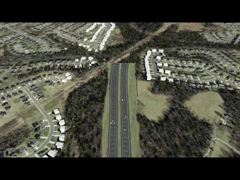 Charlotte Outer Loop Visualization