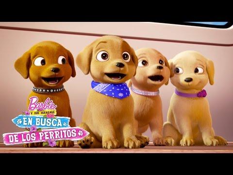Coche-parque de perritos | Barbie y Sus Hermanas en Busca de los Perritos | Barbie