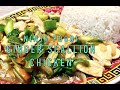 Chicken with Ginger and scallions Cheekyricho Cooking Ninja Foodi Youtube Video Recipe ep.1,401