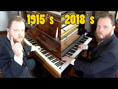 Can You Hear The Difference Between a 1915 Piano and a 2018 Piano? Vídeos de zueiras e brincadeiras: zuera, video clips, brincadeiras, pegadinhas, lançamentos, vídeos, sustos