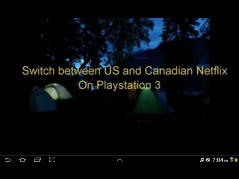 PS3 US netflix Canada Updated DNS Oct 26/14