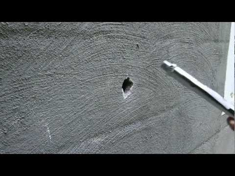How To Make a Hole In Cinder Block