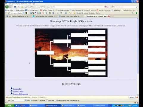 Create A Free Genealogy Website Part 1: Using DropBox To Make A Website