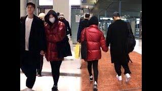 Song Joong Ki & Song Hye Kyo @ Paris Airport