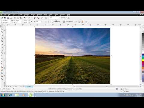 How to Crop Image in CorelDraw