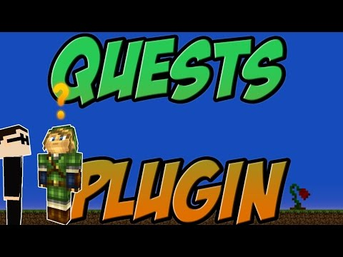 Quests Bukkit Plugin Minecraft 1.7.10| 1.8 Spigot | German| | Tutorial |