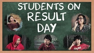 Students On Result Day   MostlySane