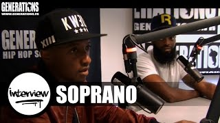 Soprano - Interview #LeDiable ... (Live des studios de Generations)