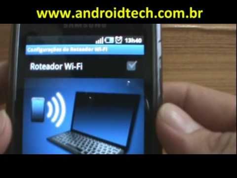 Transformando seu Galaxy S em um roteador Wi-Fi