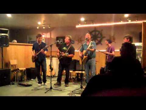 The Down-a-longers playing at AJ's Pub on July 17th/2012 Scott Kupsch - Vocals/Rhythm Guitar George Hart - Vocals/Mandolin Brandon Greencorn - Lead Guitar Kevin O'Handley - Banjo Zachary West...