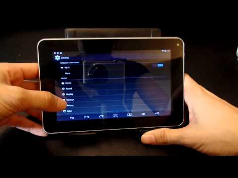 ZEKI Quadcore 7' Tablet Review Pt 1