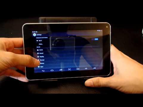 ZEKI Quadcore 7' Tablet Review Pt 1