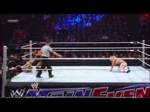 Layla & Natalya vs. Alicia Fox & Aksana: WWE Main Event, March 20, 2013