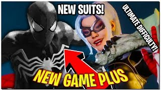 BLACK CAT DLC COMING! NEW GAME PLUS IS HERE! NEW SUITS! // Spider-Man PS4 (Ultimate)