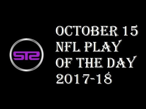 Week 6 - October 15, 2017 - NFL Pick of The Day - Today NFL Picks ATS Tonight - 10/15/17