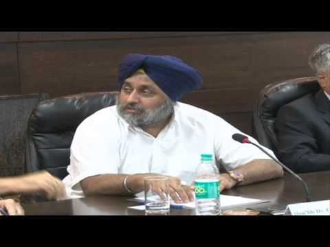 4 Sep 2013  Deputy Cm Meeting With Dgp Punjab Police  02 video