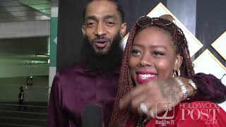 Nipsey Hussle on supporting Black Business at Roc Nation Brunch for GRAMMY WEEK