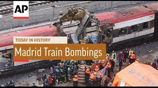 Madrid Train Bombings - 2004 | Today In History | 11 Mar 17