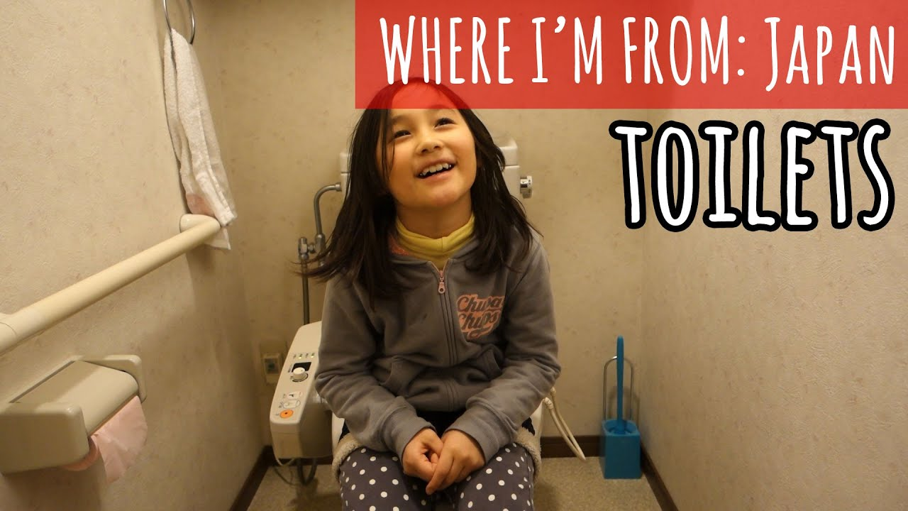 Figuring out a Japanese Toilet [MJ selection]