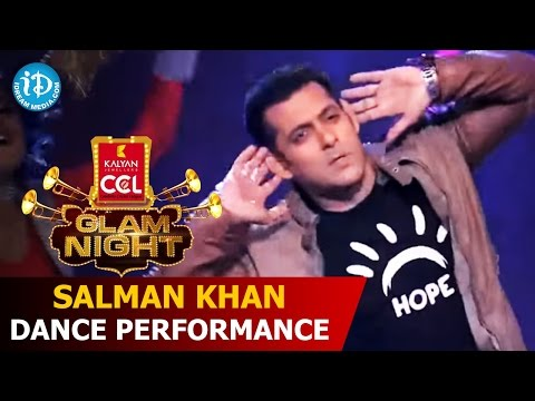 Salman Khan Dance Performance @CCL Glam Nights