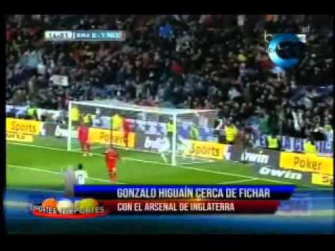 Deportes internacional: Higuain cerca Arsenal, Barca por Thiago Silva
