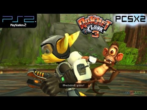 Ratchet & Clank 3 -  PS2 Gameplay SD + FXAA (PCSX2)