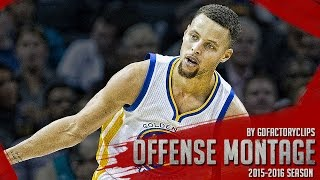 Stephen Curry EPIC Offense Highlights Montage 2015/2016 (Part 1) - HUMAN TORCH MODE!