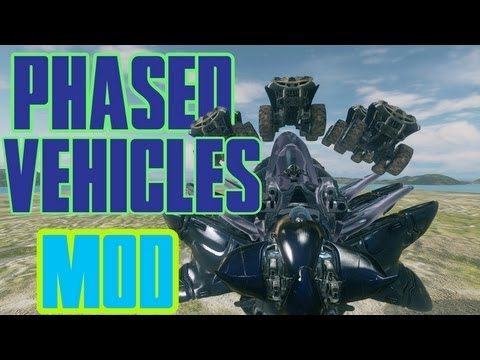 Halo 4 - Phased Vehicles on Forge! |MOD|Download Links