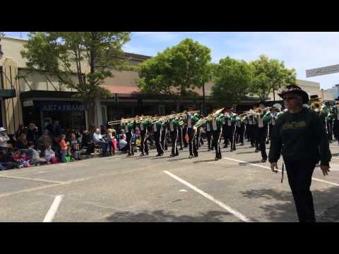 Casa Grande High School Band in Petaluma's 2014 Butter & Eggs Day Parade