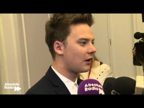 Conor Maynard talks to Absolute Radio at the 02 Silver Clef Awards for Nordoff-Robbins