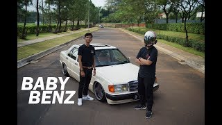 #26 - Mercedes Benz W201 190 E (BABY BENZ) - Test Drive + Review #Carvlog