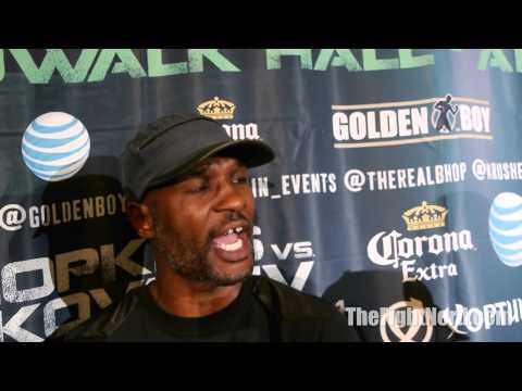 Bernard Hopkins says he was Peacemaker for HBO and Golden Boy
