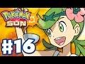 Pokemon Sun and Moon - Gameplay Walkthrough Part 16 - Mallow's Island Trial! (Nintendo 3DS)
