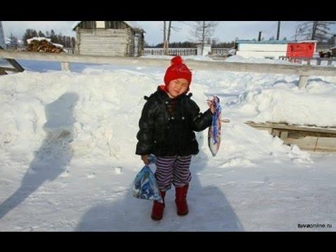 В Туве 4х-летняя девочка в сумерках прошла 8 км,чтобы сообщить о смерти своей бабушки