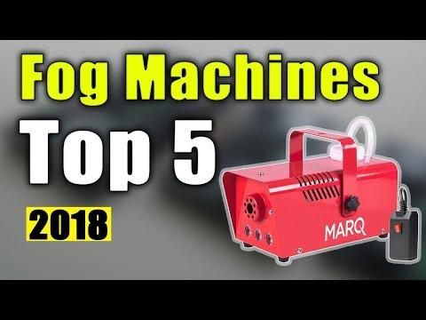 BEST 5: Fog Machines 2018