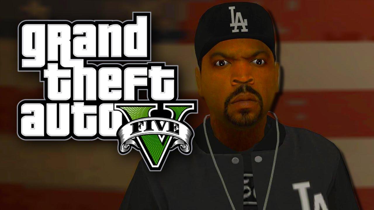 Ice Cube Gta sa Like Ice Cube Gta v