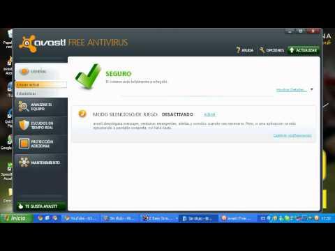 Como desactivar el antivirus AVAST