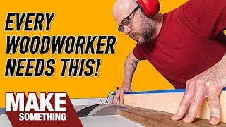 Dead Simple Table Saw Crosscut Sled   The Easiest and Most Accurate.