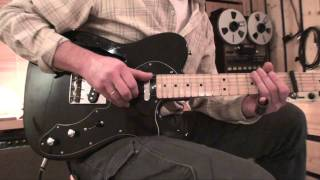 Water of Love (Dire Straits) - Slide guitar tutorial