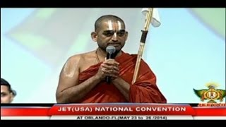 JET Convention Orlando Florida May 2014 - HH Sri Chinna Jeeyar Swamiji  Invocation Speech