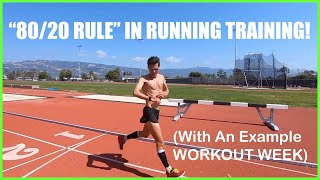 """The """"80-20"""" Rule in Running Training: Balancing Higher Intensity with Volume!"""