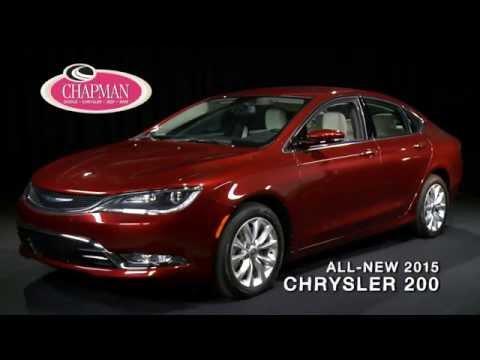 All New 2015 Chrysler 200